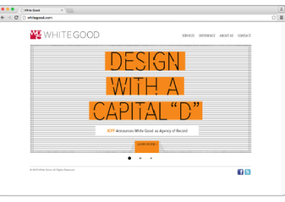 White Good AOR Web Rotator